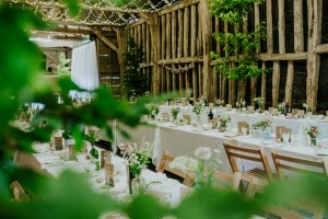 Hornbeam add that extra greeny to the barn  Credit :peterboroughweddingphotography.co.uk